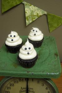 Ann Arbor Halloween Cupcakes Ghost Sweet Heather Anne