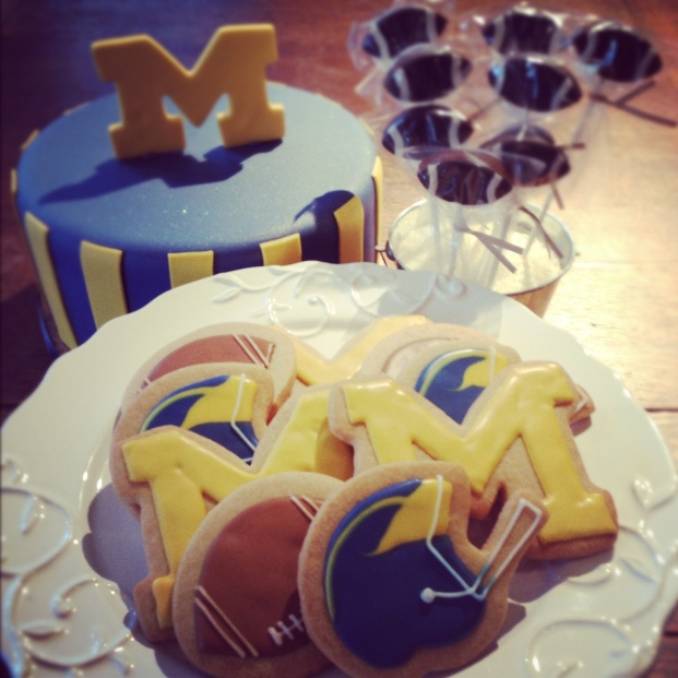 Metro Detroit Cakes and Desserts, University of Michigan desserts