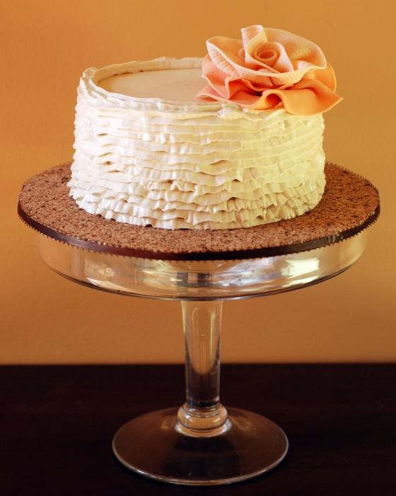 Metro Detroit Cakes, Ann Arbor Cakes, delicious cakes, Sweet Heather Anne, ruffle buttercream, simple buttercream