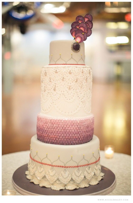 Sweet Heather Anne Wedding Cake