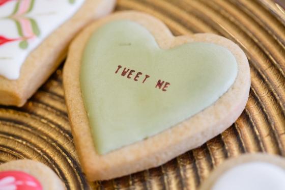 Valentine's Day Cookies, Sweet Heather Anne