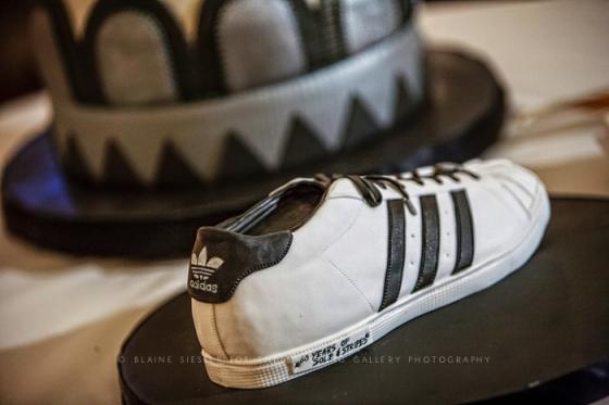 "Adidas Shell Toe 60th ""Diamond"" Anniversary Cake"